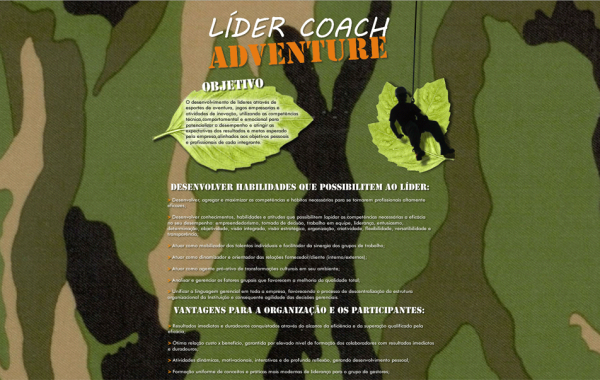 Hotsite – Lider Coach Adventure by ISM