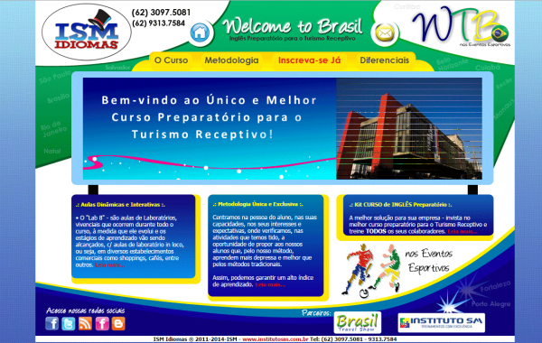 Hotsite – Welcome to Brasil