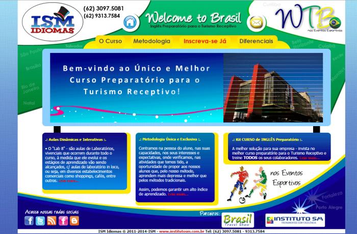 Hotsite – Welcome to Brasil