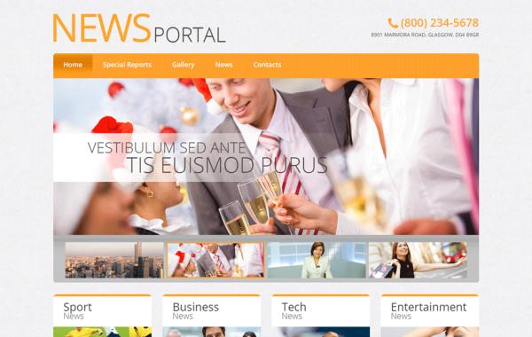 Modelo de Blog WordPress – Portal de Notícias