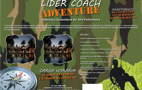 Flyer Líder Coach Adventure